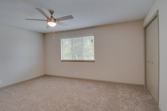 The Seward spacious bedroom