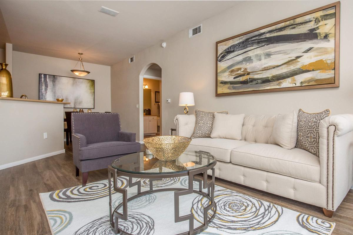 OPEN FLOOR PLAN AT THE FAIRWAYS AT SOUTHERN HIGHLANDS APARTMENTS IN LAS VEGAS