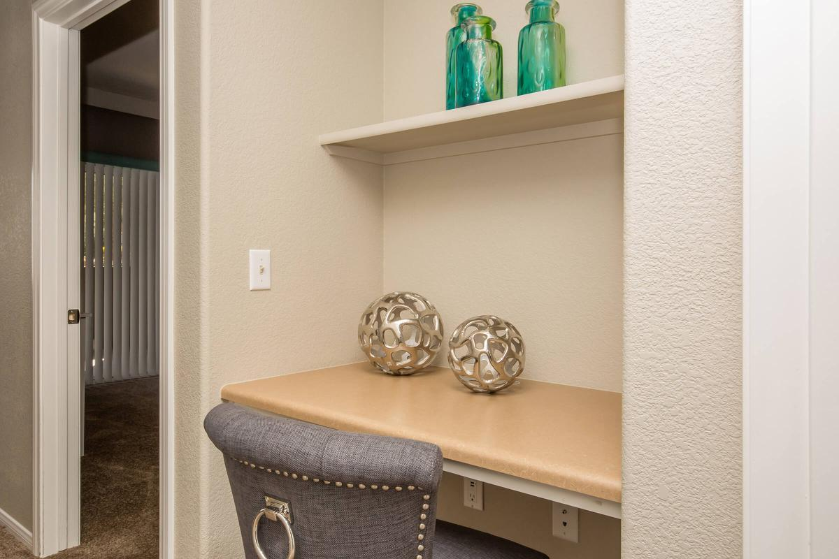 BELT IN SHELVING IN SELECT HOMES