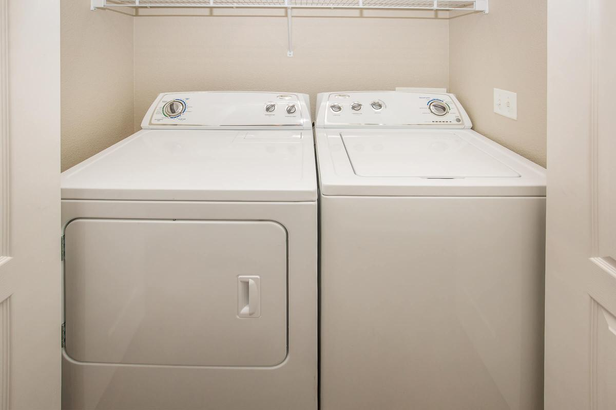 IN HOME LAUNDRY AREA