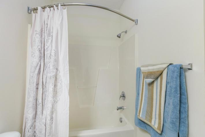 Curved Shower Rods Available At Mallard Glen In Charlotte, NC