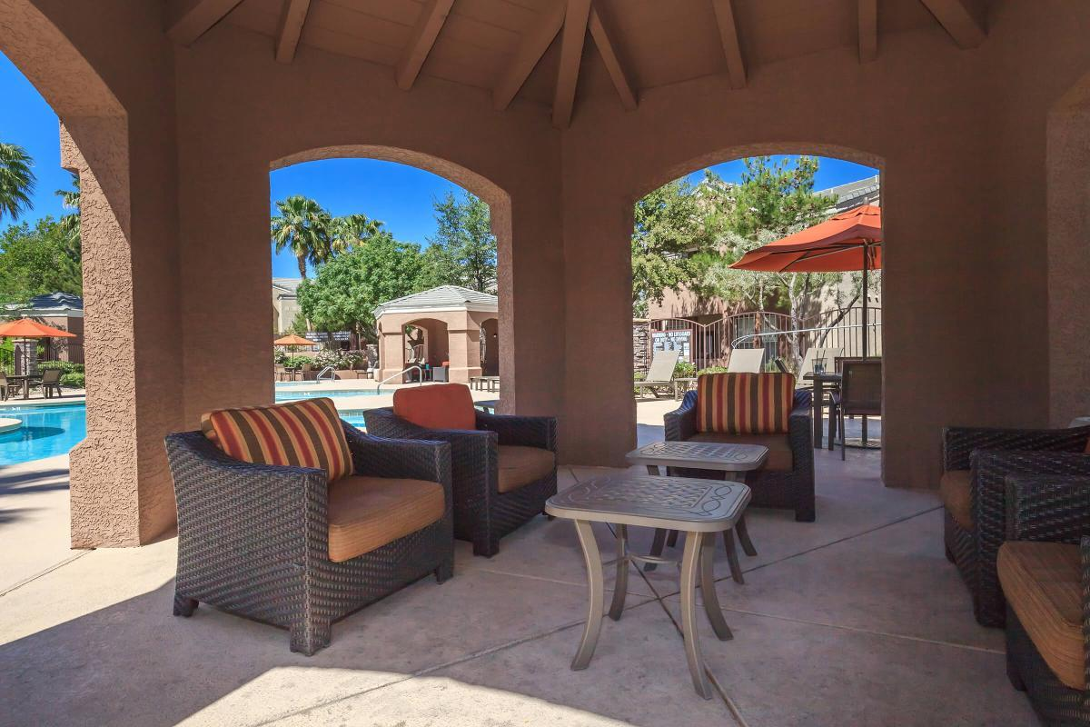 Catch Up with Friends at The Equestrian on Eastern Apartments in Henderson, NV