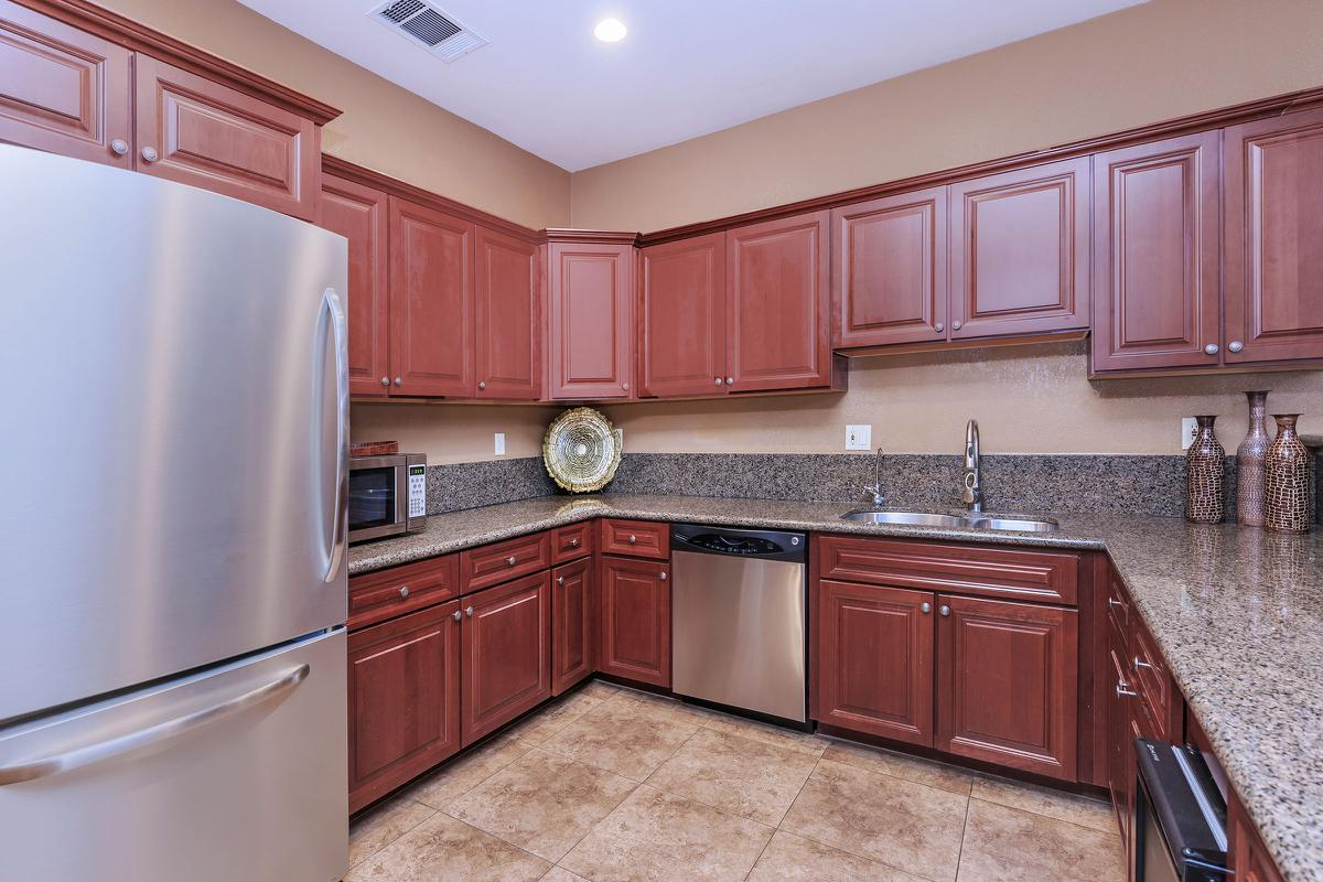Clubhouse with Gourmet Kitchen at The Equestrian on Eastern Apartments