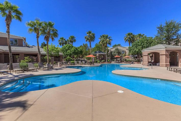 Dive Right In at The Equestrian on Eastern Apartments in Henderson, NV