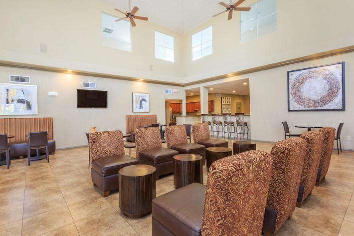 Elegant Clubhouse with WiFi at The Equestrian on Eastern Apartments in Henderson, NV