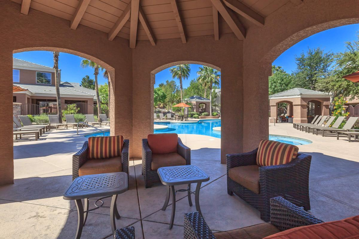 Pool Side Cabanas Await!