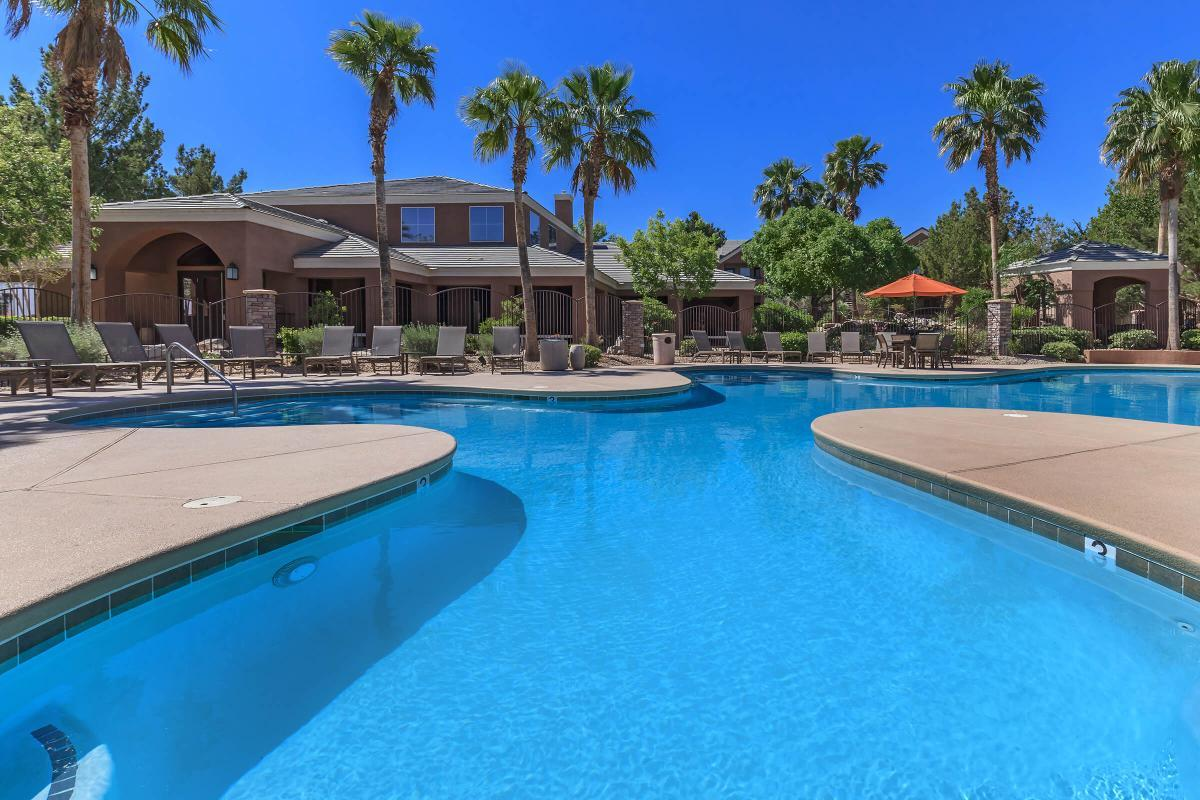 Soak Up Some Rays Pool Side at The Equestrian on Eastern Apartments