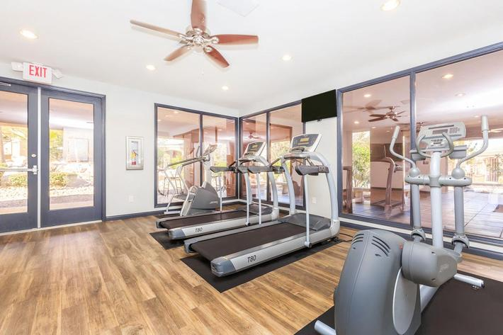 We Make it Easy to Stay in Shape at The Equestrian on Eastern Apartments in Henderson, NV