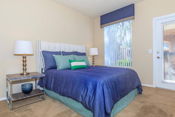 Belmont Cozy Bedroom at The Equestrian on Eastern Apartments in Henderson, NV