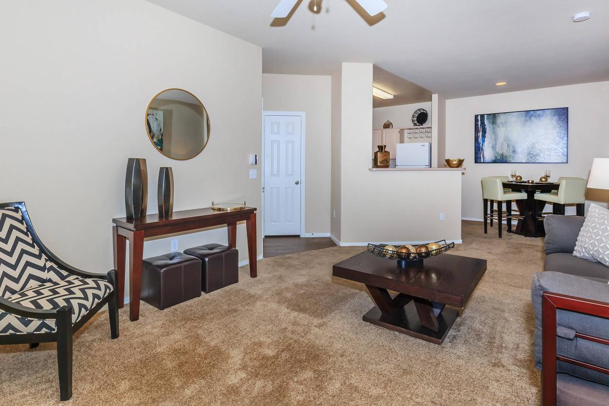Spacious Floor Plans at The Equestrian on Eastern Apartments