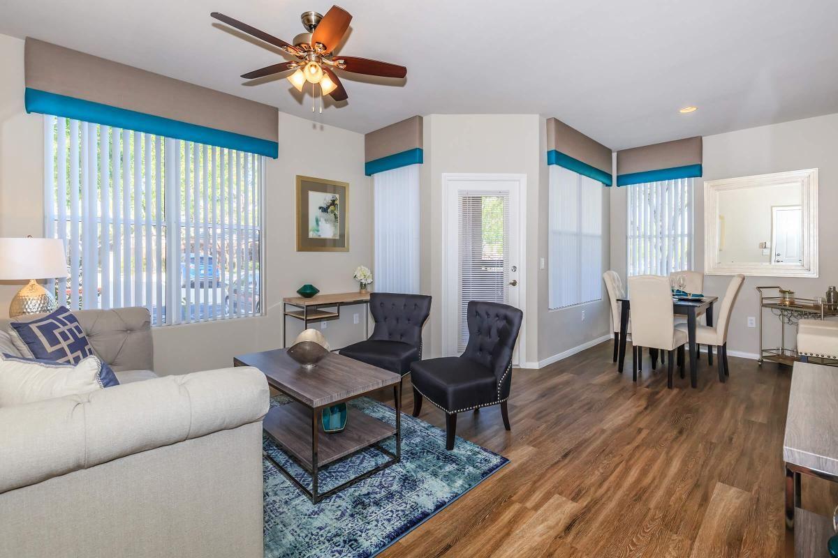 Saratoga Chic Living Room