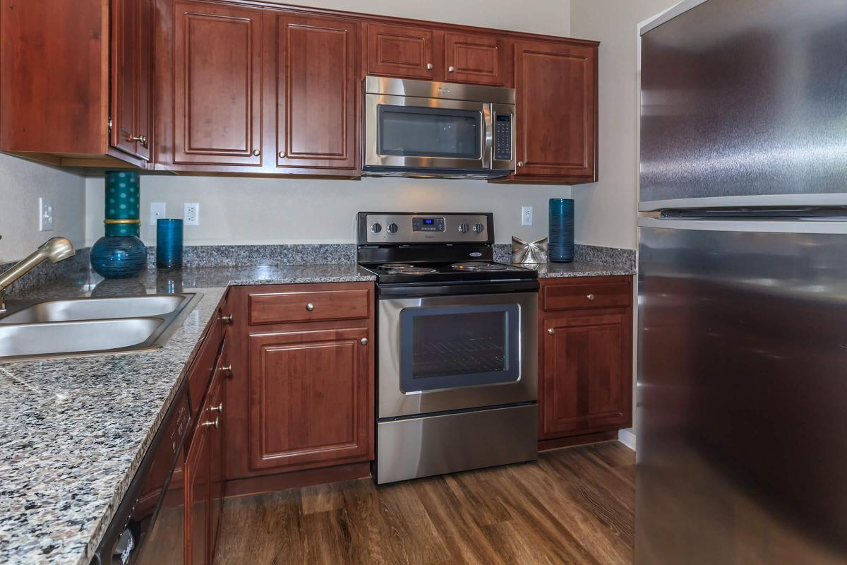 Saratoga Fully Equipped Kitchen at The Equestrian on Eastern Apartments