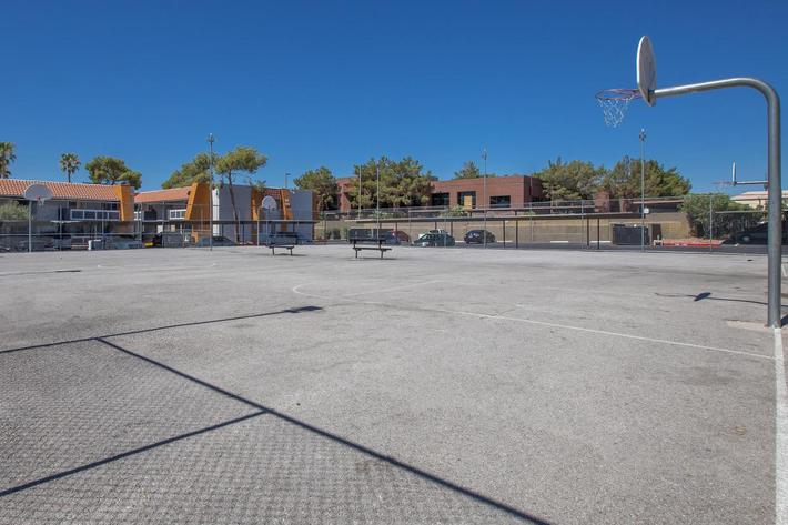 This is the basketball court at Sundance Village