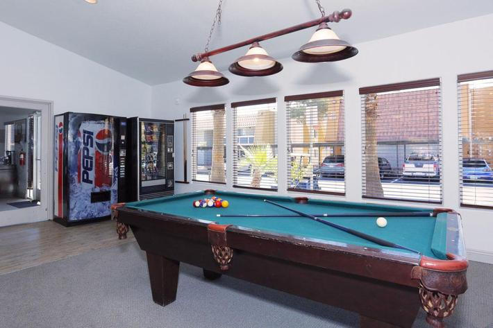 PLAY A GAME OF BILLIARDS AT SUNDANCE VILLAGE
