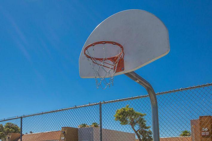 SUNDANCE VILLAGE APARTMENTS HAS A BASKETBALL COURT