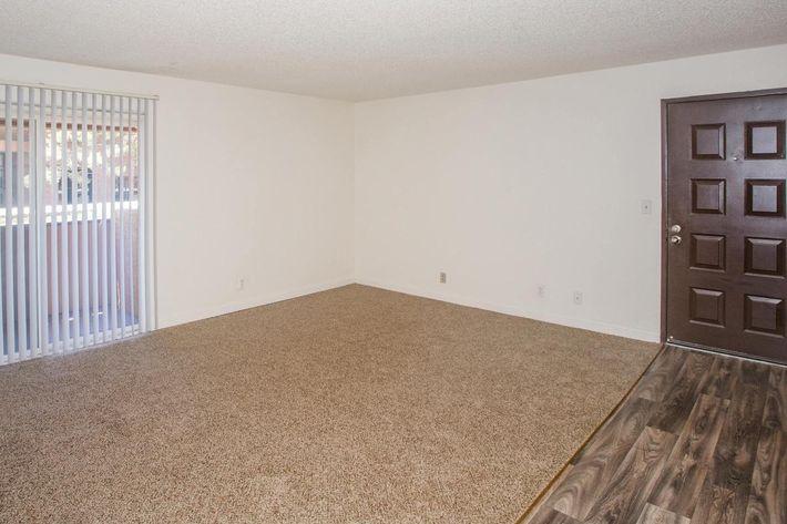 Spacious living room at Sundance Village