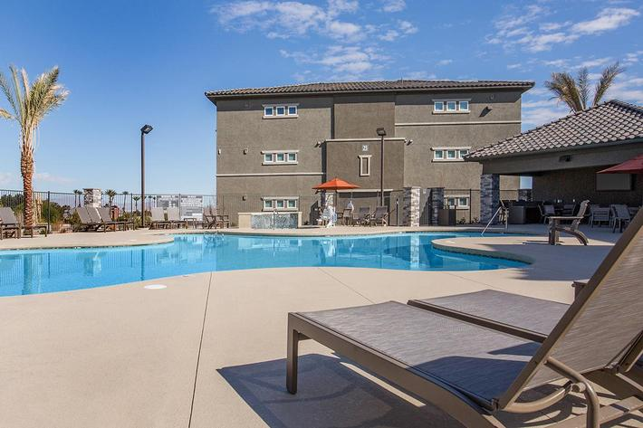 Enjoy One of Our Two Hydrotherapy Spas at The Passage Apartments in Henderson, NV