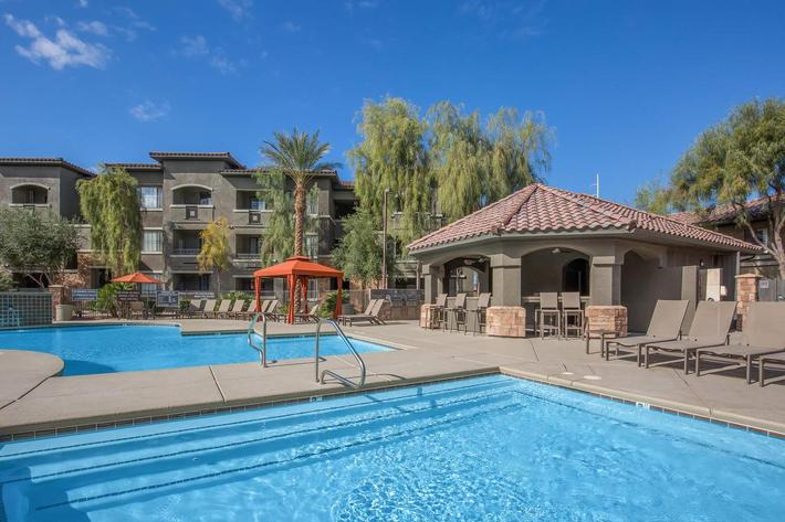 Soak Up Some Rays here at The Passage Apartments in Henderson, NV