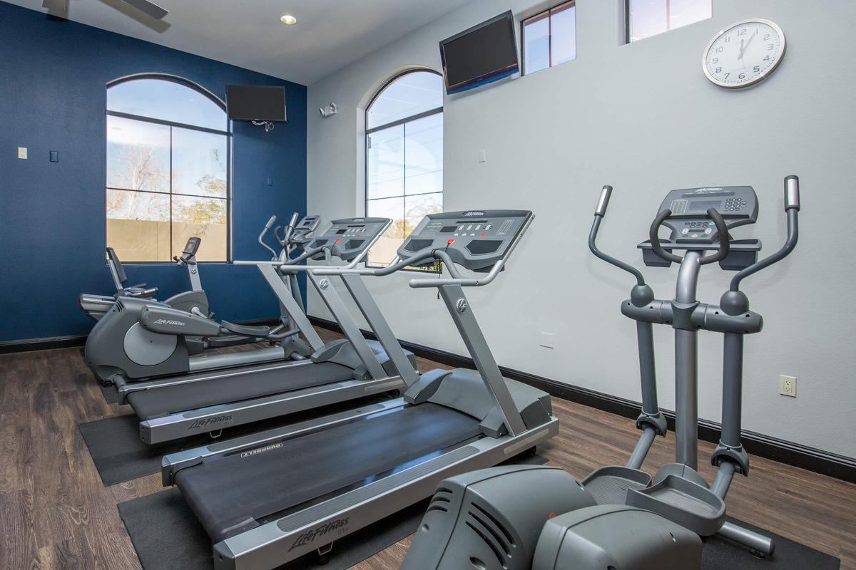 State-of-the-Art Exercise Facility here at The Passage Apartments