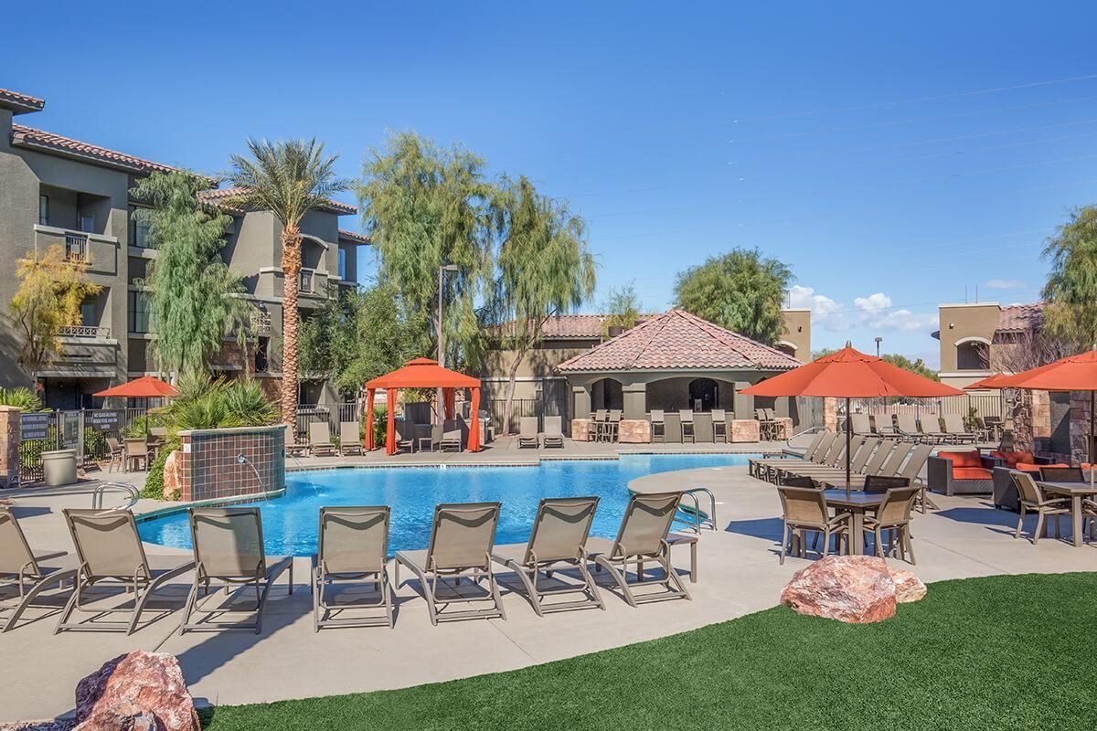 Two Resort Style Pools, One Seasonally Heated