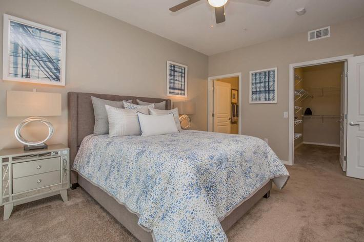 B3 Cozy Bedroom at The Passage Apartments