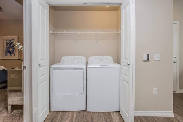 B3 Full-Sized Washer and Dryer at The Passage Apartments in Henderson, NV