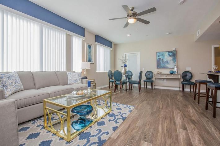 B3 Open Floor Plan here at The Passage Apartments in Henderson, NV