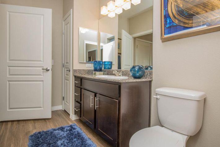 B3 Sleek Bathroom at The Passage Apartments