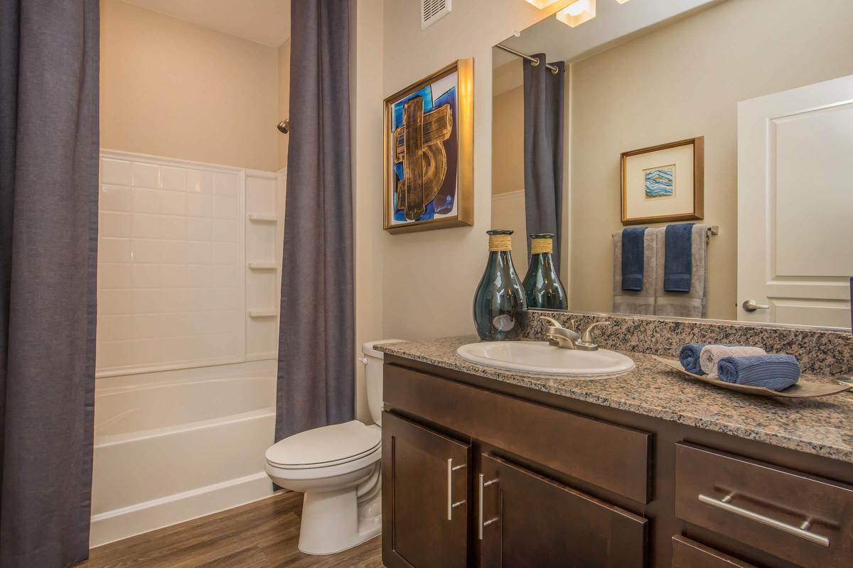 Chic Bathroom at The Passage Apartments in Henderson, NV