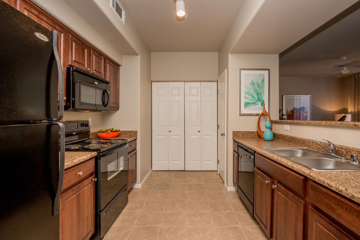 The Haven has a Fully-Equipped Kitchen at The Passage Apartments