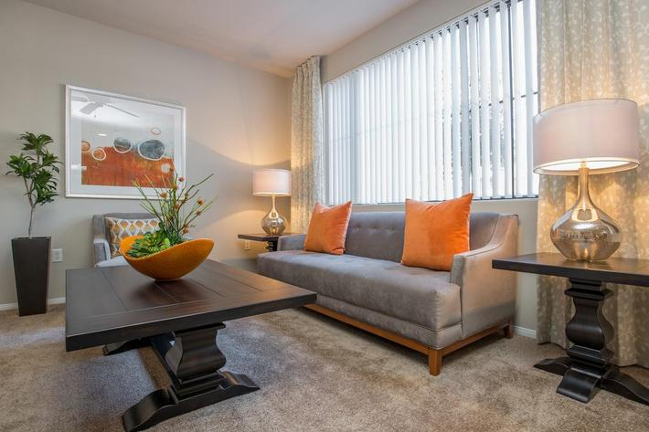 The Haven has Lots of Natural Lighting at The Passage Apartments