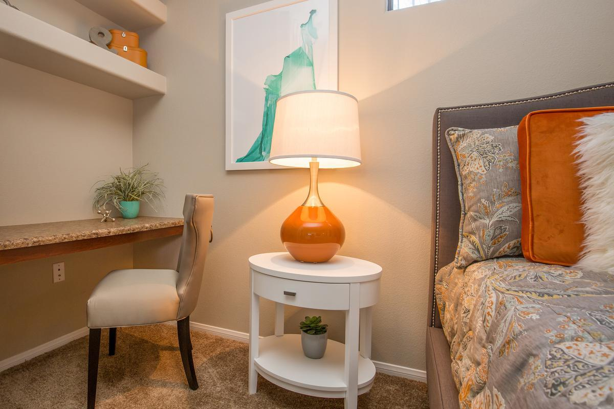 The Havens Built-in Desk at The Passage Apartments