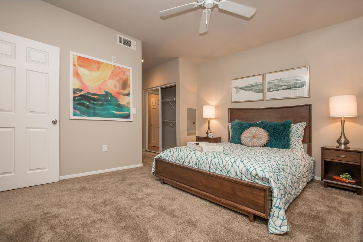 The Havens Cozy Bedroom at The Passage Apartments in Henderson, NV