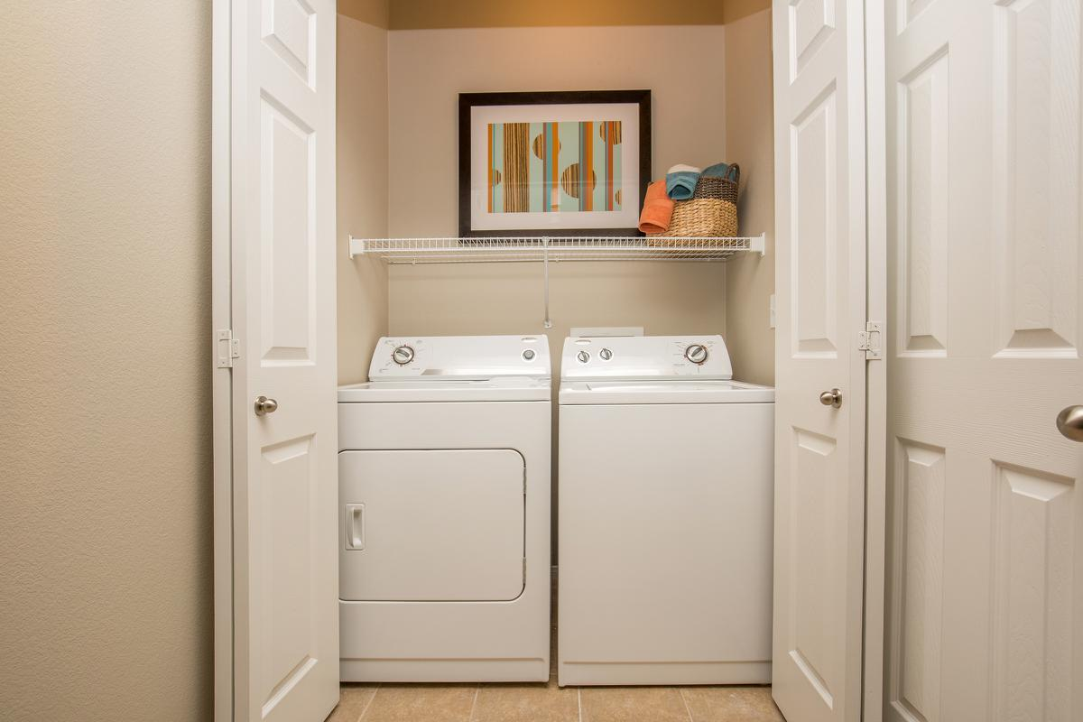 The Havens Full-Sized Washer and Dryer at The Passage Apartments