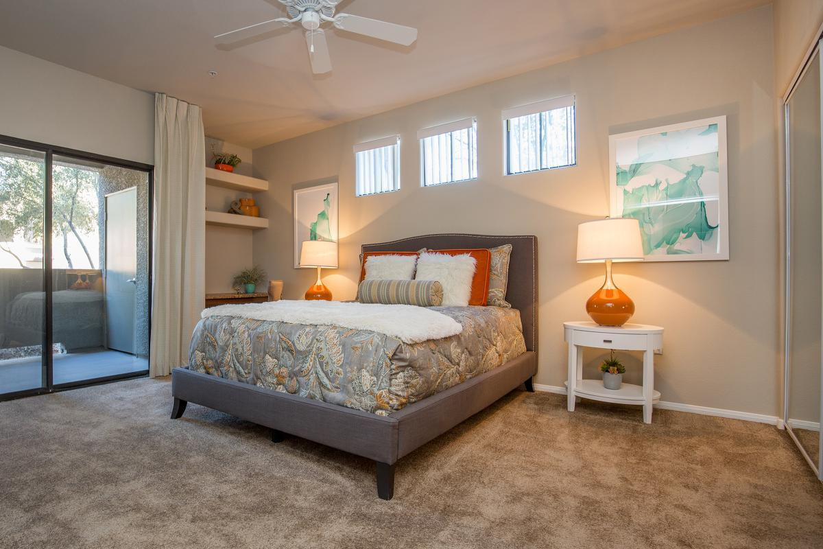 The Havens Plush Carpeted Bedroom