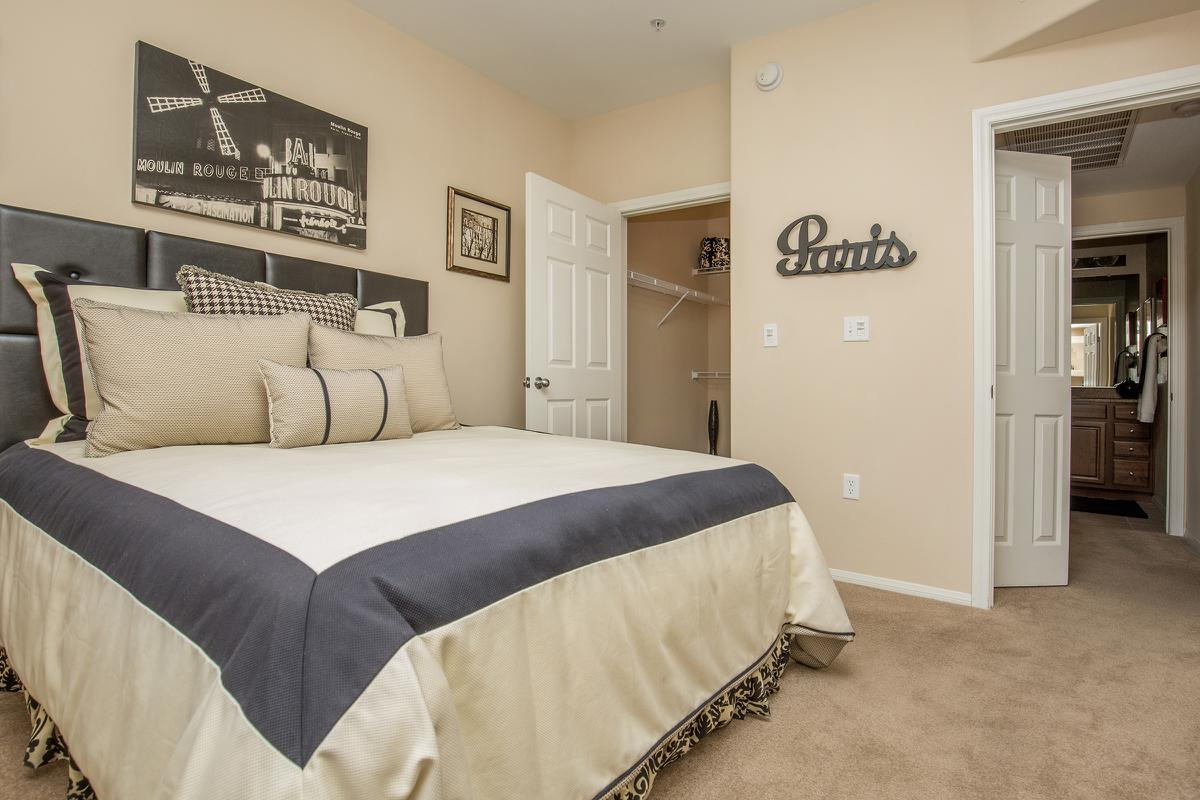 Cozy Bedroom with Plush Carpeting