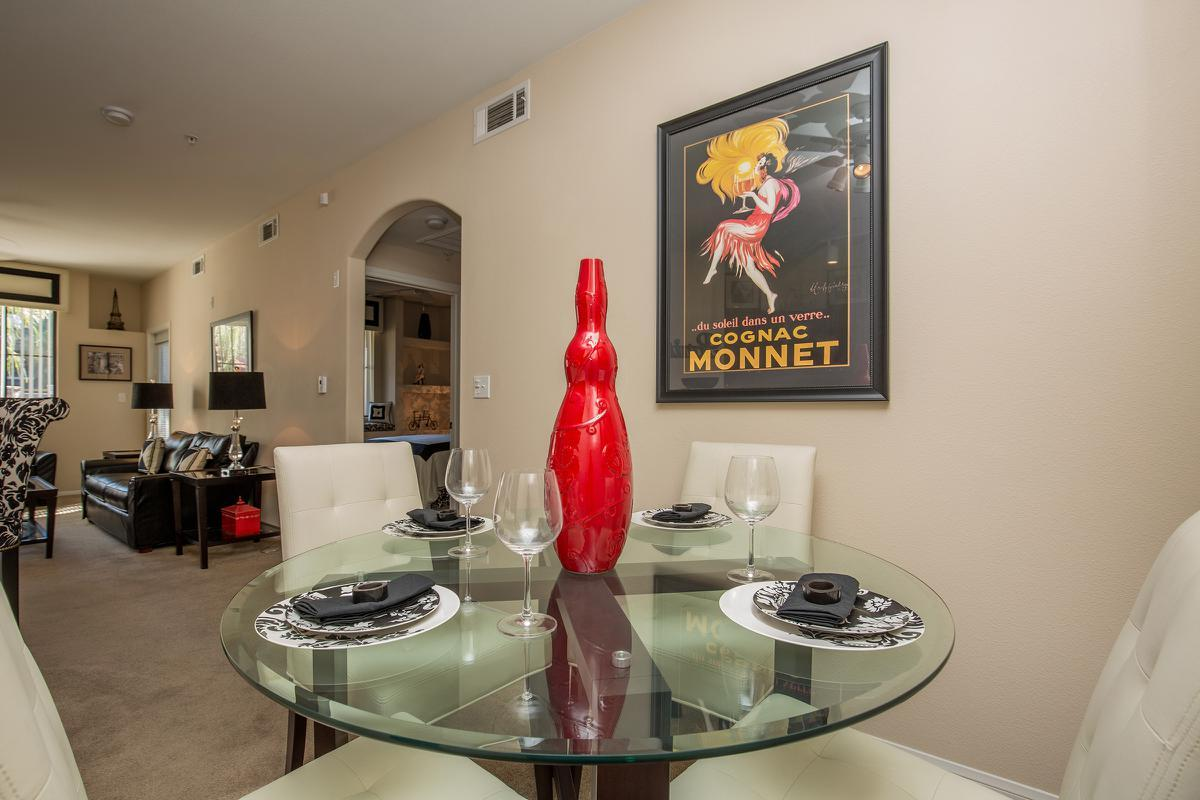 The Signature Dining Room at The Passage Apartments in Henderson, NV