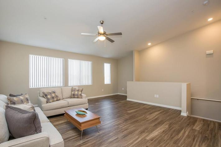 Townhouse Open Floor Plan at The Passage Apartments in Henderson, NV