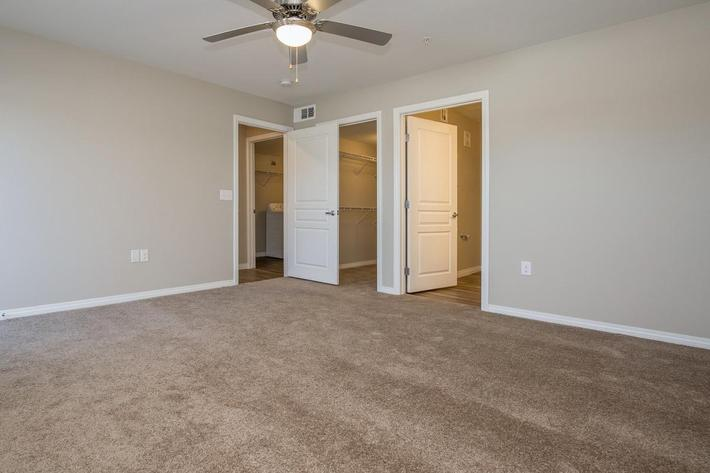 Townhouse Plush Carpeting at The Passage Apartments