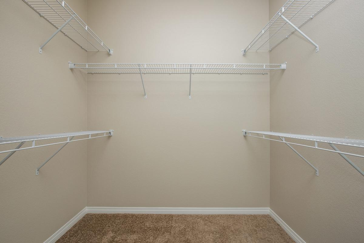 Townhouse Walk-In Closet at The Passage Apartments in Henderson, NV
