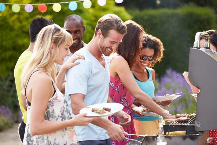 Entertain your friends here at Riverview Apartments in Jacksonville, Florida