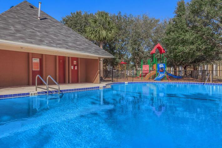 Make some waves here at Riverview Apartments in Jacksonville, Florida