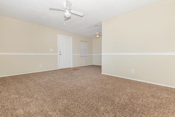 One bedroom open floor plan here at Riverview Apartments in Jacksonville, Florida