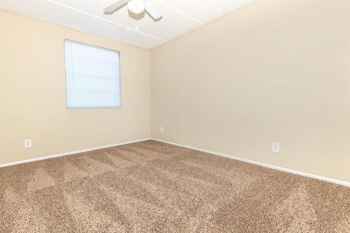 Ample bedroom space here at Riverview Apartments in Jacksonville, Florida