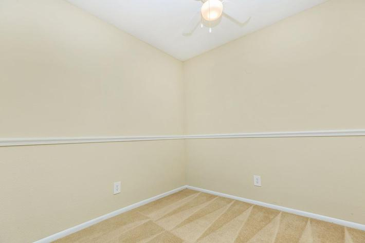 Two bedroom has space for entertaining here at Riverview Apartments in Jacksonville, Florida