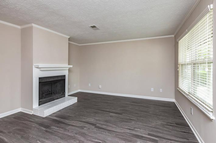 Brilliant flooring in two bedroom townhome
