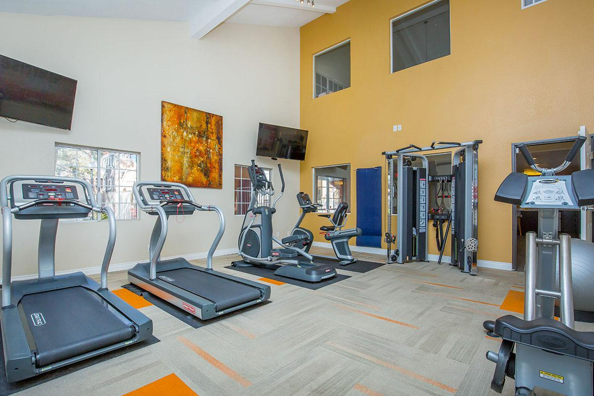 STATE-OF-THE-ART FITNESS CENTER AT SEDONA RIDGE IN LAS VEGAS, NEVADA