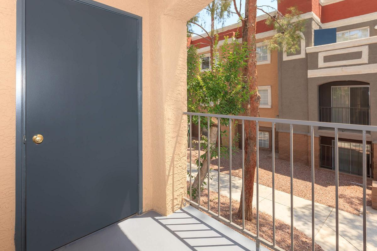 PERSONAL BALCONY AT SEDONA RIDGE IN LAS VEGAS