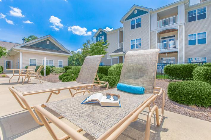 Relax in the sun at Whisper Creek in Rock Hill, South Carolina.