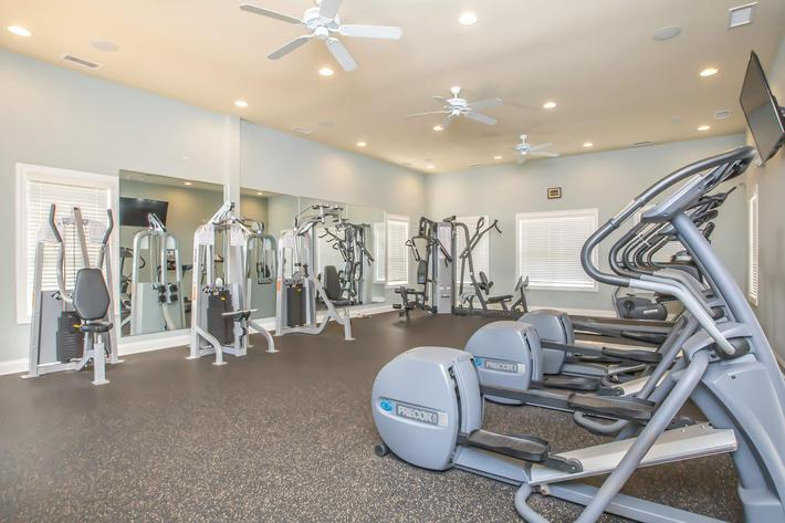 Stay fit at Whisper Creek in Rock Hill, South Carolina.
